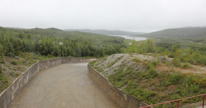 Уровень воды в Магаданском водохранилище за прошедшие дни поднялся на 45 сантиметров