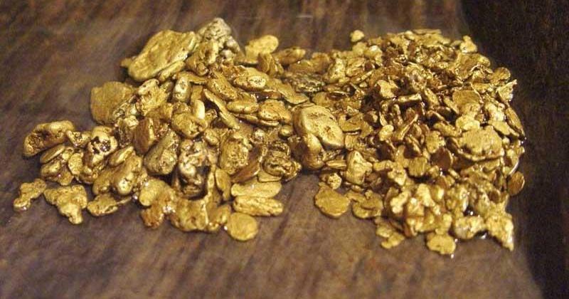 На Колыме изъято более 1 килограмма промышленного самородного золота стоимостью свыше 2 млн рублей