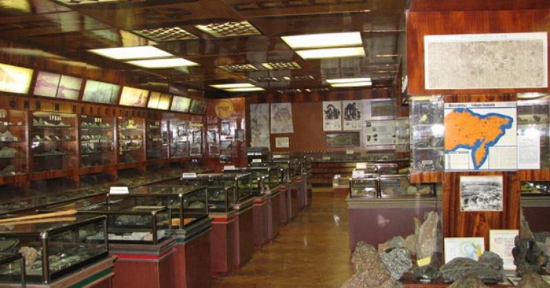 71 год назад был образован  Геологический музей Комитета природных ресурсов Магаданской области
