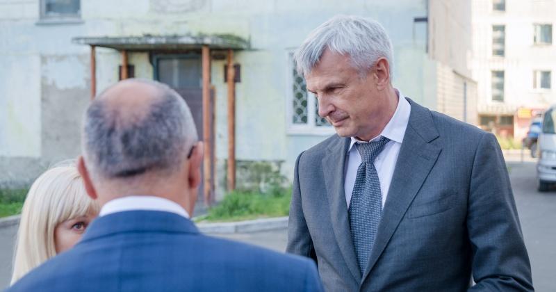 Сергей Носов: Не менее чем 100 млн рублей будет тратиться на благоустройство магаданских дворов ежегодно