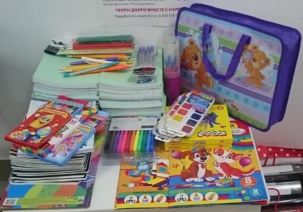 Более 400 детей Колымы из малообеспеченных семей обеспечили школьными принадлежностями
